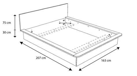 dimension lit 2 places lit pulse composez votre chambre design gr 226 ce 224 mobiliermoss mobilier moss