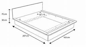 Lit Simple Dimension : lit pulse composez votre chambre design gr ce mobilier moss ~ Teatrodelosmanantiales.com Idées de Décoration