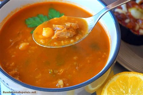 cuisine marocaine chorba frik soupe algérienne ramadan 2016 aux délices