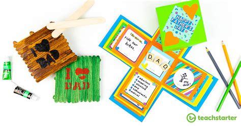 easy  fantastic fathers day craft ideas teach