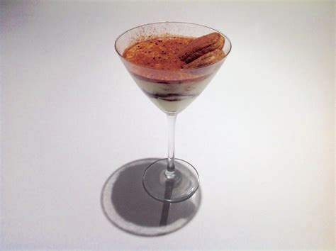 Tiramisu without the strong flavor of coffee and strong liquor. Tiramisu in martini glass. 250ml of espresso coffee ,125ml of kahlua or tia maria or frangelico ...