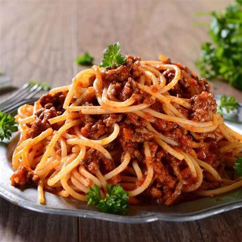 cuisine italienne recette spaghettis bolognaise rapides facile
