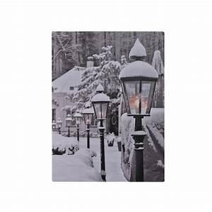 Deko Kristalle Zum Aufhängen : led leinwand bild zum aufh ngen weihnachten winter deko geschenk wand dekoration kaufen bei ~ Eleganceandgraceweddings.com Haus und Dekorationen