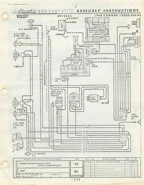 Diagram Camaro Engine Wiring Free Full