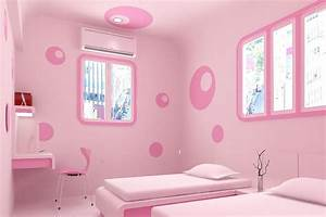 Kids Room: Pink Girl Room Paint Ideas Cute Paint Colors