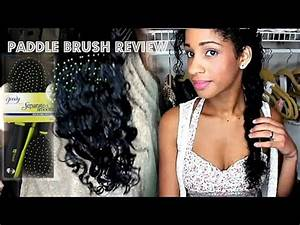 Paddle Brush Review!  Mslaviniaful