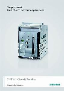 3wt Air Circuit Breaker