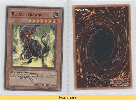 2006 Yu Gi Oh Dinosaurs Rage Sd9 En008 Black Tyranno