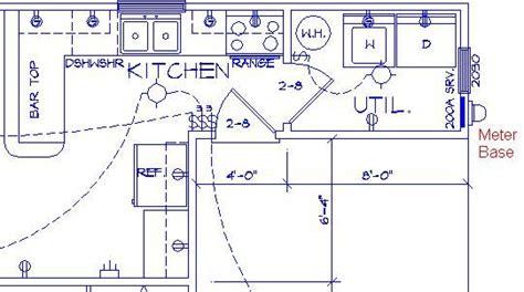 sle kitchen electrical plan parra electric inc electrical plans electrical plan house