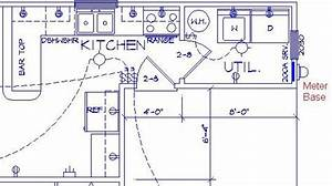 Sample Kitchen Electrical Plan