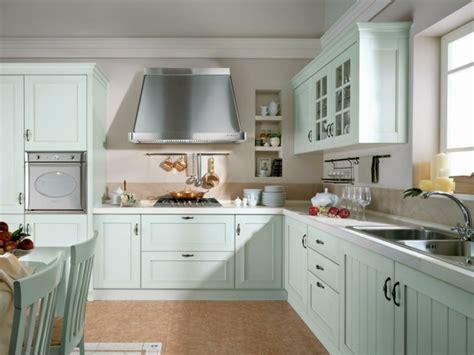 cuisine bleu clair la cuisine rétro moderne 94 idées déco à essayer