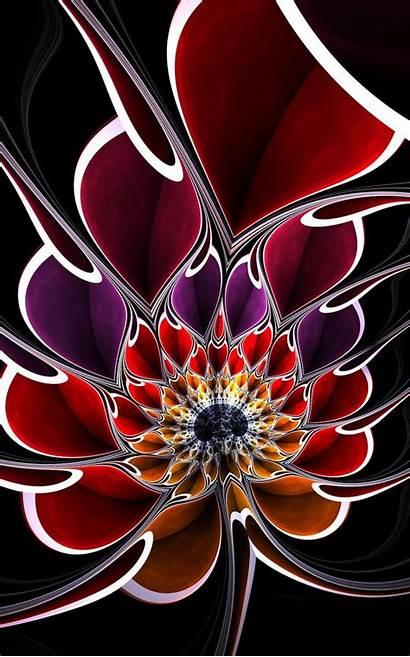 Fractal Deviantart Perspective Different Suicidebysafetypin Flower Wind