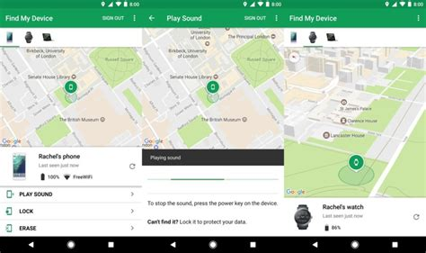 Device To Find renames android device manager app to find my device