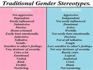 From the Cradle to the Grave: Gender Stereotyping in ...