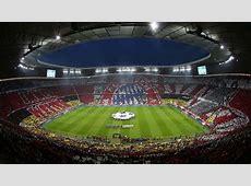 Choreo Choreographie in der Allianz Arena vor FC Bayern