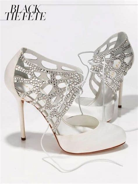 creative  beautiful bridal shoes