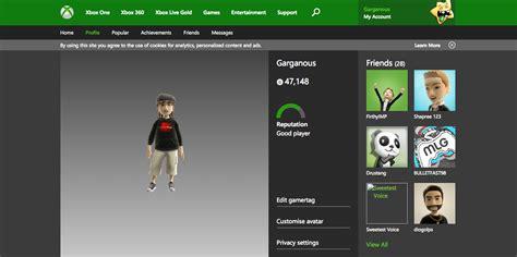 Xbox Gamertag Profile Best Player User Profile Profile