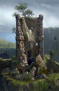 Fortress Tower Damage Characters Art Uncharted