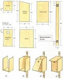 Vogelhäuschen Bauen Anleitung : nisthilfen und futterstellen f r unsere heimischen v gel bauen ~ Markanthonyermac.com Haus und Dekorationen