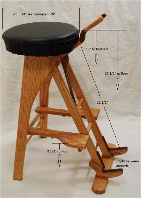 guitar stool stand  south mountain woodworks