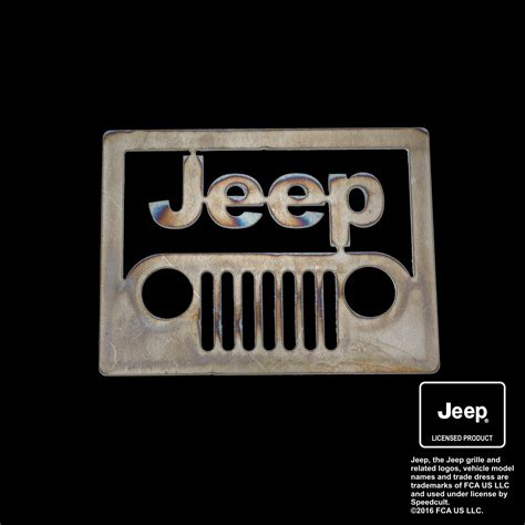 jeep front logo jeep front view emblem speedcult officially licensed