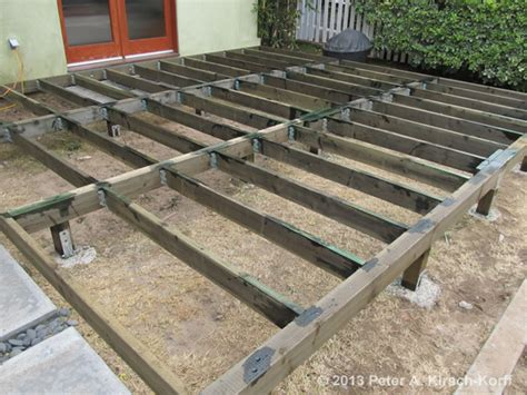 building a deck a patio specialities building heavy duty front wood