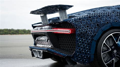 Meet the life size lego technic bugatti chiron you can actually drive. Lego built a full-size Bugatti Chiron out of Technic parts — and then drove it