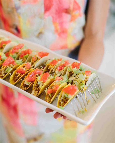 food ideas for bridal shower 20 delicious bites to serve at your bridal shower martha