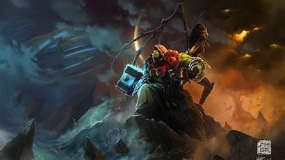 Warcraft Shaman Wallpapers Ocean Druid Pixelstalk