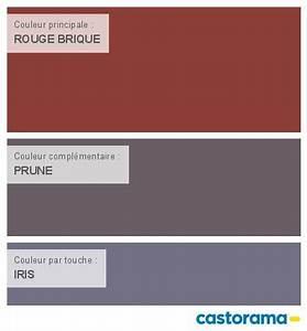 Rouge Brique Avec Quelle Couleur : castorama nuancier peinture mon harmonie peinture rouge brique satin de colours collection ~ Melissatoandfro.com Idées de Décoration