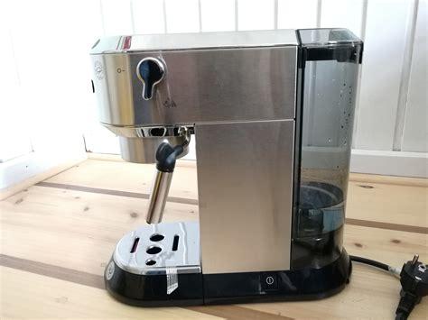 kaffeemaschine siebträger test im test die de longhi ec680 dedica siebtr 228 ger espressomaschine