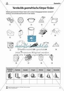 Geometrische Formen Berechnen : versteckte geometrische k rper finden meinunterricht ~ Themetempest.com Abrechnung