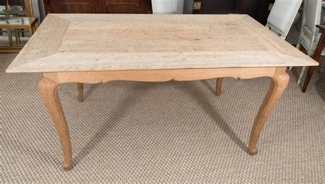 bleached oak dining table french bleached oak dining table for sale at 1stdibs