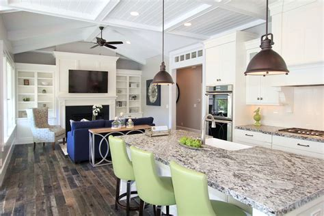 one wall kitchen with island designs lighting options the kitchen island