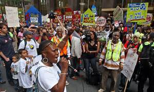 Dozens arrested after foreclosure protesters target Bank ...