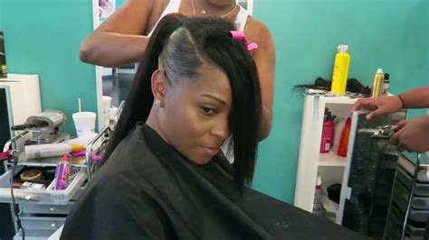 Invisible Sleek Swoop Ponytail On