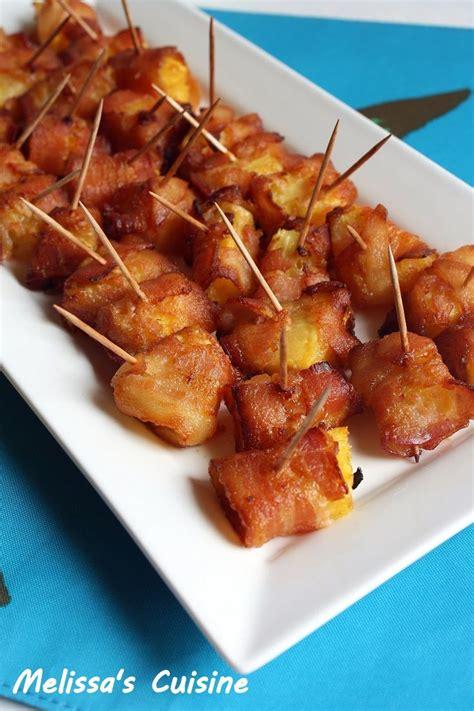 melissas cuisine bacon wrapped pineapple bites recipes