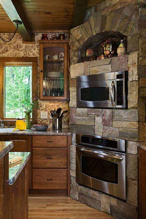 smart stone ideas  bring natural cozy feel