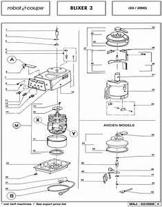 Robot Coupe Blixer 3 Blender-mixer Spare Parts