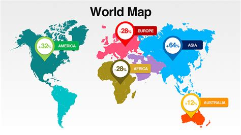 world map   countries presomakeover