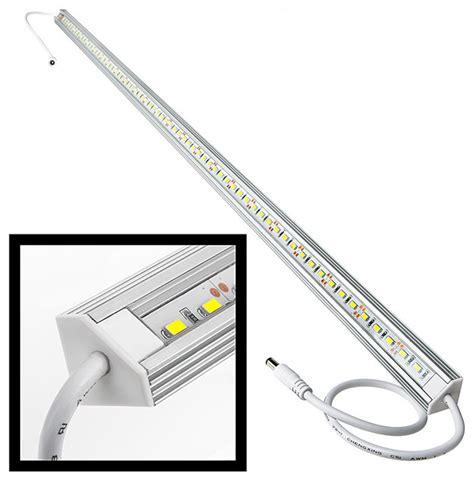 alb series aluminum led light bar fixture corner mount