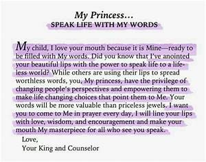 quotes god s princess quotesgram With love letters from god to his princess