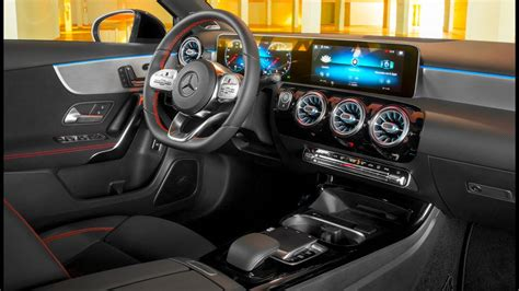 mercedes benz  class sedan interior youtube