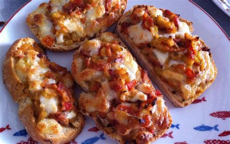recette tartine tomate courgette pas ch 232 re et simple