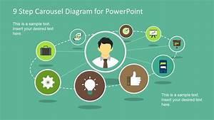 Carousel Circular Powerpoint Diagram