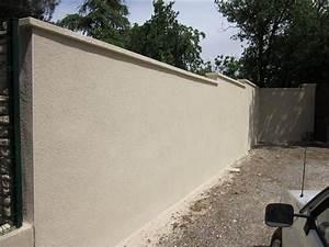 Faire Un Mur De Cloture : gros uvre fa ade en pierre dans le vaucluse alain ~ Premium-room.com Idées de Décoration