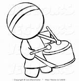 Coloring Drum Person Drummer Chinese Bongo Clipart Vector Outlined Hippie Player Student Clipartmag Blanchette Leo sketch template