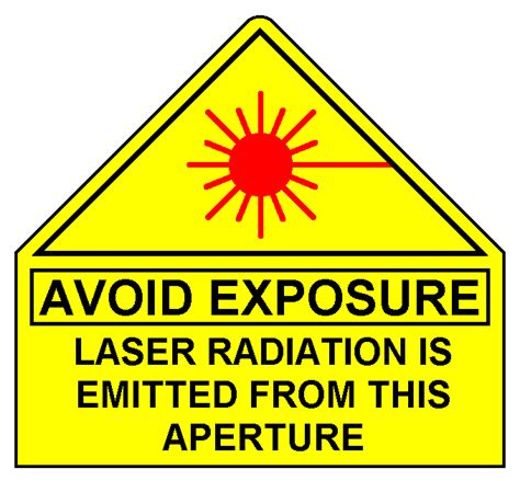 laser light warning label sam 39 s laser faq laser safety