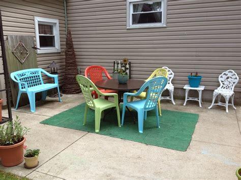 25 best ideas about plastic patio furniture on pinterest