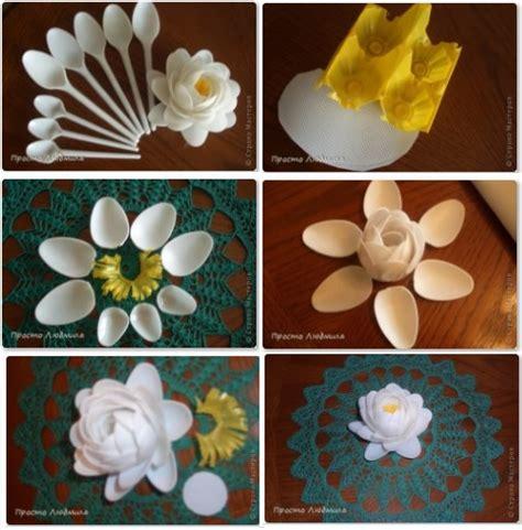 trabajos manuales con vasos platos y cucharas desechables trabajos manuales con vasos platos y
